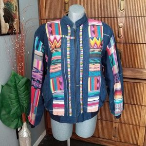 Jackets & Blazers - SALE! Embroidered Mexican Jacket Size Medium